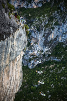 Basejumping in Verdon