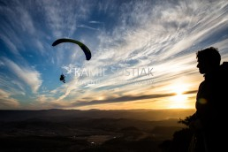 Paragliding at Mount Blackheath